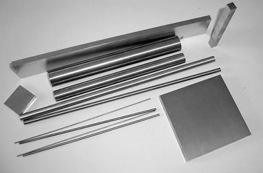 Tungsten carbide rod and plate